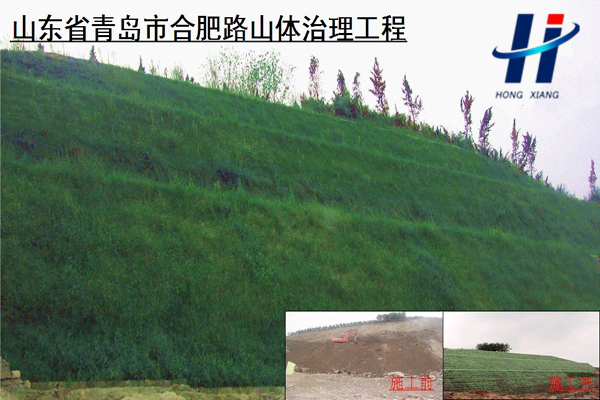 山东省青岛市合肥路山体治理工程